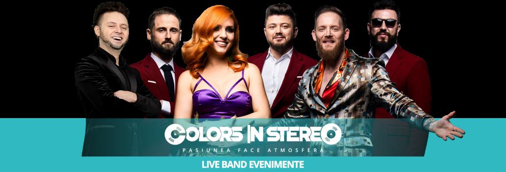 Oferta ColorsInStereo, Trupa Nunta ColorsInStereo ⭐Live Trupa muzica nunta sau Trupa nunta